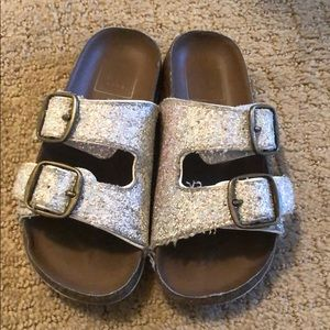 Gap sparkly slides